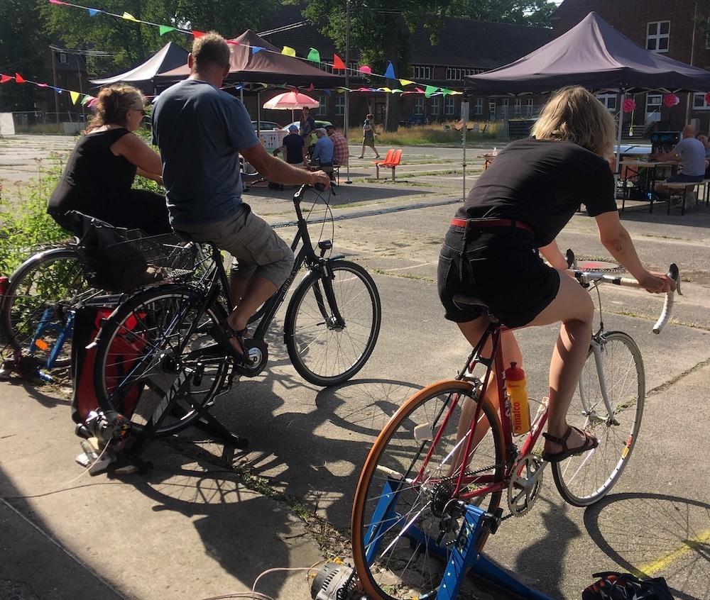 Shorts on Wheels goes Fahrradkino Münster